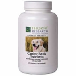 Canine Basic Nutrients by Thorne - Dog Vitamins - 120 ct.