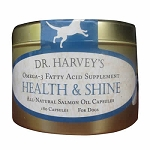 Dr. Harvey's Health and Shine for Dogs - 180 ct. Salmon Oil capsules