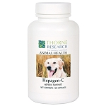 Hepagen-C by Thorne - Milk Thistle & Curcumin Supplement for Dogs