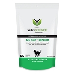 Nu-Cat Senior Bite-Size Chews by Vetri-Science - 120 ct - Cat Vitamins