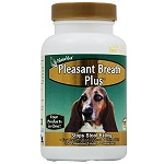 Pleasant Breath Plus Tablets by NaturVet - 150 ct.