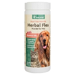 Herbal Flea Powder by NaturVet - 4 oz.- Natural Flea Repellent
