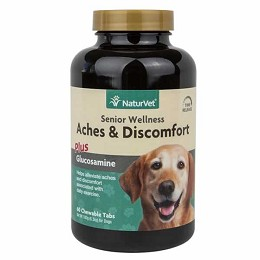 Aches and Discomfort for Senior Dogs - 60 ct. - NaturVet