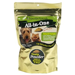 All-in-One Powder Vitamin Supplement for Dogs & Cats by NaturVet