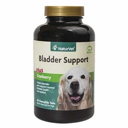 Bladder Support for Dogs by NaturVet  60 ct.