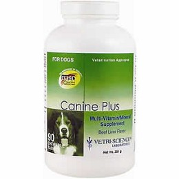 Canine Plus Beef Flavor - 90 ct - Dog Vitamins by Vetri-Science