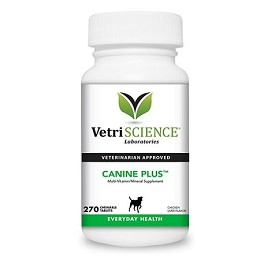 Canine Plus Vitamins for Dogs - Chicken Flavor - 270 tablets