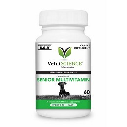 Canine Plus Senior Multivitamin - 60 tablets - Vetri-Science