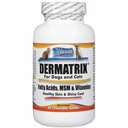 Dermatrix for Dogs and Cats - 45 ct. Helps Treat Dry Skin Problems