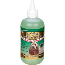 Ear Wash by NaturVet - 8 oz. - Cleans Dog and Cat Ears