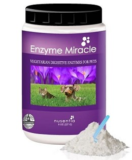 Enzyme Miracle for Dogs and Cats by Nusentia - 273 g