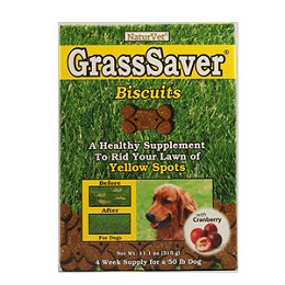 GrassSaver Biscuits by NaturVet - Stops Yellow Spots on Lawns