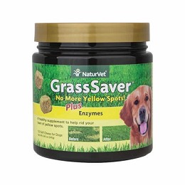 GrassSaver Soft Chews NaturVet - 120 ct. - Stops Yellow Grass Spots