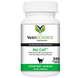 Nu-Cat by Vetri-Science - 240 ct. Daily Vitamins for Cats