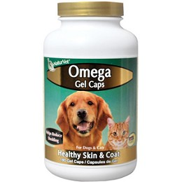 Omega Gel Caps by NaturVet - 60 ct. - Fish Oil Cats & Dogs