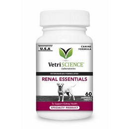 Renal Essentials for Dogs by Vetri-Science - 60 tablets