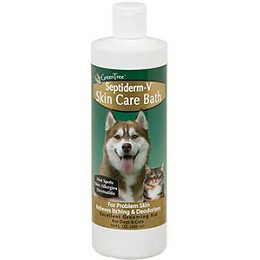Septiderm-V Bath by NaturVet - 8 oz.