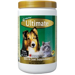 Ultimate Skin and Coat Supplement by NaturVet - 14 oz.