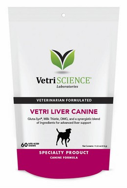 Vetri-Liver Canine Bite-Sized Chews for Dogs - 60 ct.