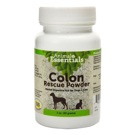 Animal Essentials Colon Rescue Powder 30g - Phytomucil for Dogs & Cats