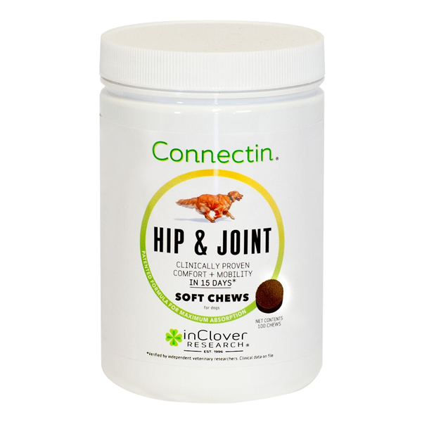 In Clover Connectin Hip &  Joint  Soft Chews 100 ct. - Dog Joint Supplement