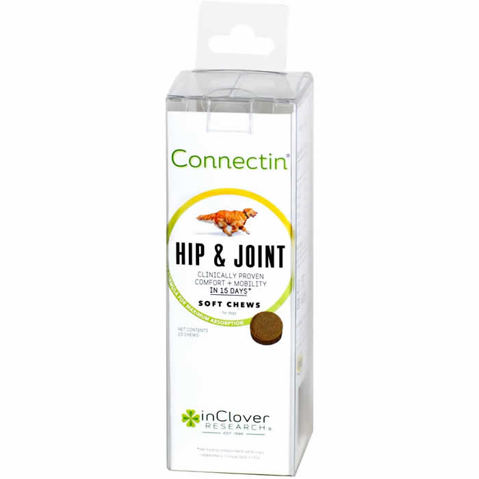 In Clover Connectin Soft Chews 20 ct. - Joint Supplement for Dogs