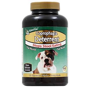 Naturvet Coprophagia Deterrent 60 Tablets Stops Dogs