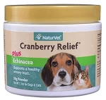 NaturVet Cranberry Relief Powder for Dogs & Cats - 50 grams Urinary Support