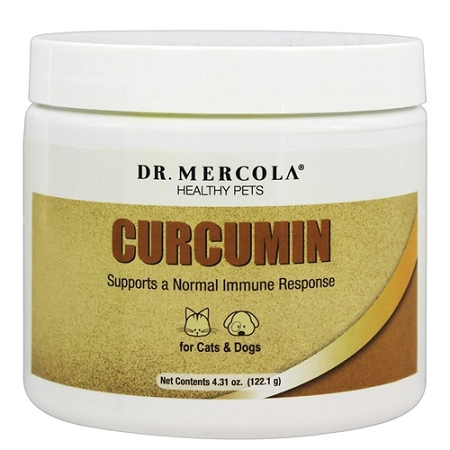 Dr. Mercola Curcumin Supplement for Dogs and Cats  - 4.31 oz
