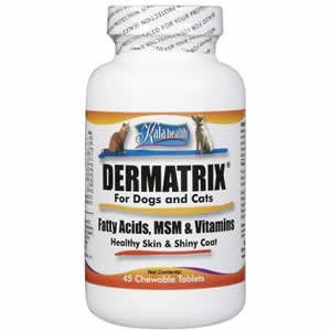 Kala Health Dermatrix for Dogs and Cats - 45 ct. Helps Treat Dry Skin Problems