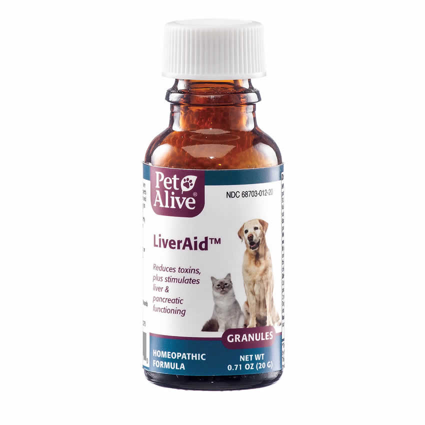 PetAlive LiverAid - Liver Support for Dogs and Cats - 20 gr