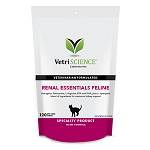 VetriScience Renal Essentials Feline Bite-Sized Chews for Cats - 120 ct.