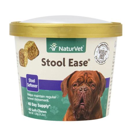 NaturVet Stool Ease Soft Chews for Dogs - 40 ct.