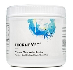 ThorneVet Canine Geriatric Basics - New Powder Formula