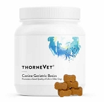 ThorneVet Canine Geriatric Basics - Daily Dog Vitamins - 90 soft chews
