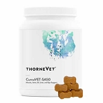 ThorneVet CurcuVET-SA50 - Curcumin for cats & small dogs - 90 soft chews
