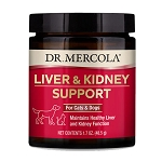 Dr. Mercola Liver and Kidney Support for Pets - 1.7 oz