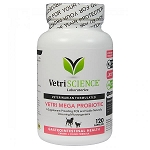 VetriScience Vetri-Mega Probiotic for Dogs and Cats - 120 capsules
