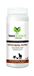 Vetri-Repel Flea and Tick Wipes for Dogs, Puppies, Cats - 60 ct.