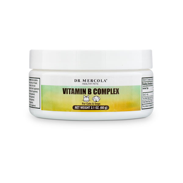 Dr. Mercola Vitamin B Complex for Pets - 2.1 oz (60 scoops)