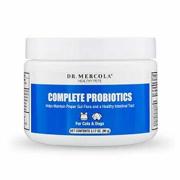 Dr. Mercola Complete Probiotics for Dogs and Cats - 3.17 oz. (30 servings)