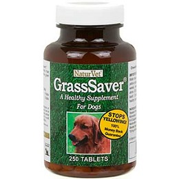 NaturVet GrassSaver Tablets for Dogs -  250 tablets