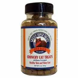 Grizzly Super Treats - Crunchy Cat Treats with Omega 3s