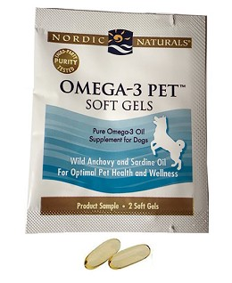 Nordic Naturals Fish Oil for Dogs - 2 soft gels - Free Sample