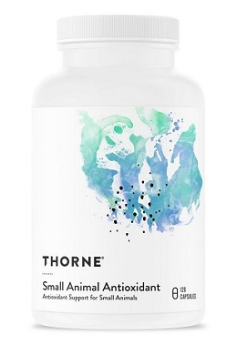 Thorne Research Small Animal Antioxidant - For Dogs and Cats - 120 capsules